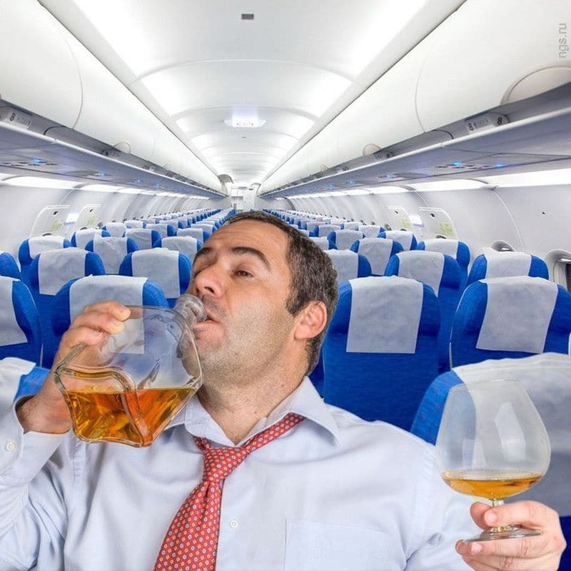 debochir - Дебоширам не место в самолете