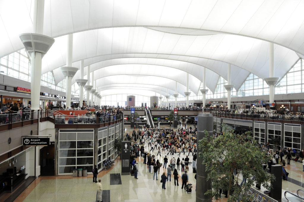 Во время реконструкции аэропорт Денвер планирует добавить 39 гейтов