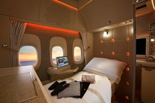 Новый интерьер для Boeing 777 компании Emirates