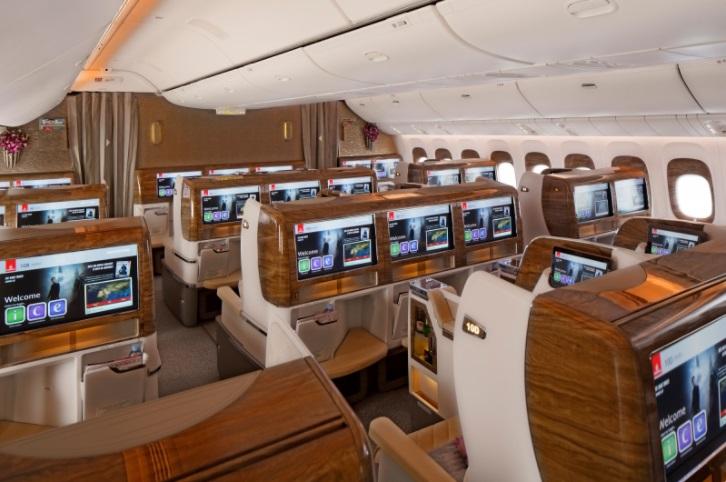 emir02 - Новый интерьер для Boeing 777 компании Emirates