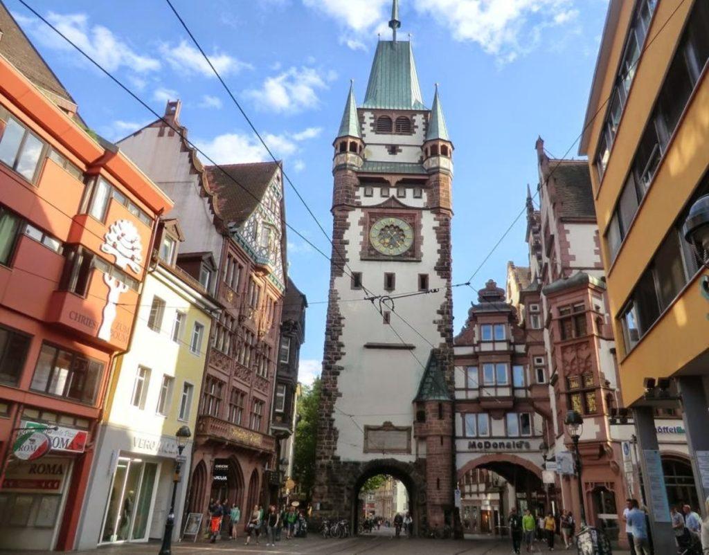 Немецкий город с французским колоритом