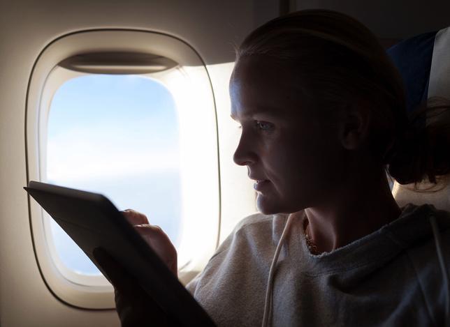 htmlimage 3 - Во время полета она обнаружила, что у ее мужа был роман. Самолет совершил аварийную посадку