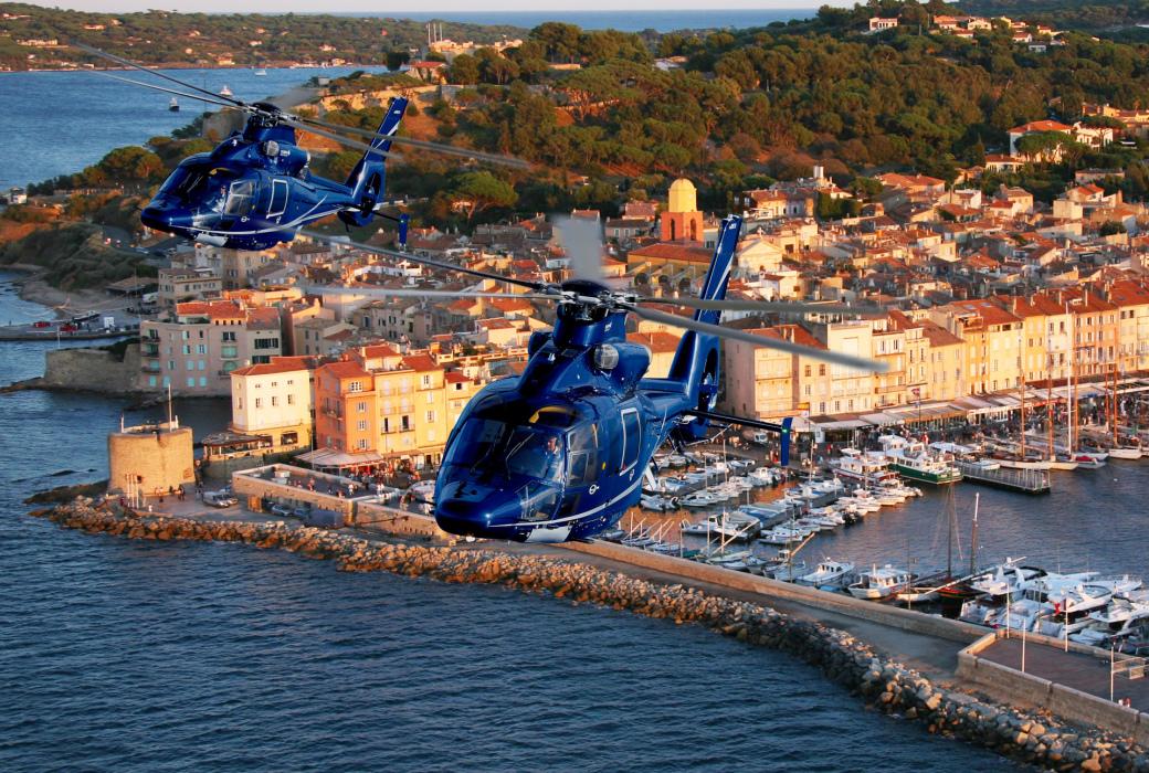 Вертолетный чартер франция