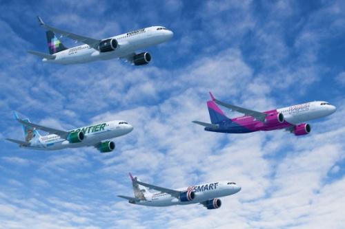indigo partners a320neo family - Airbus получил рекордный заказ на 430 самолетов A320neo