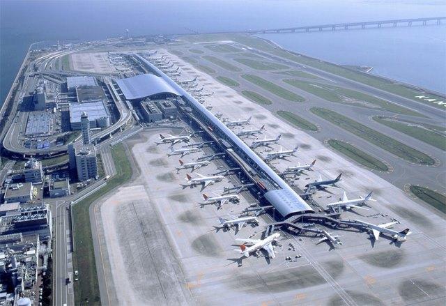 kansai - Климатические изменения и структура аэропортов