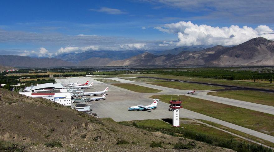 lhasa gonggar airport - Аэропорт Лхаса Китай коды IATA: LXA, ICAO: ZULS