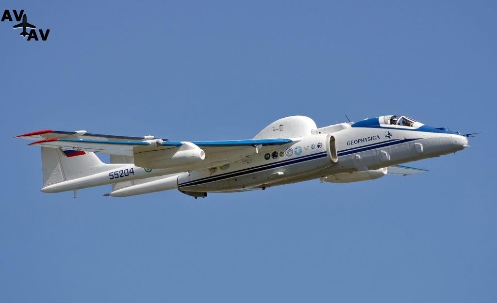 Самолет М-55 «Геофизика» законсервировали до 2020 года
