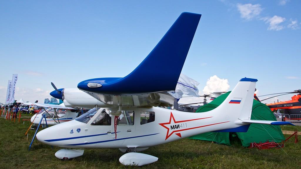 mai 411 - В Дагестане появятся на свет легкие самолеты МАИ-411