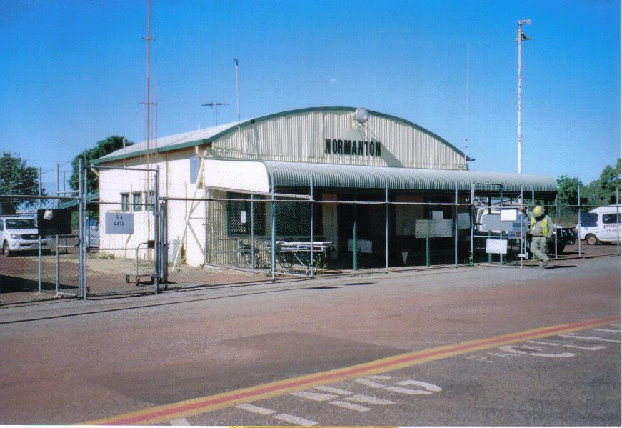 normanton airport - Аэропорт Нормантон Австралия коды IATA: NTN, ICAO: YNTN