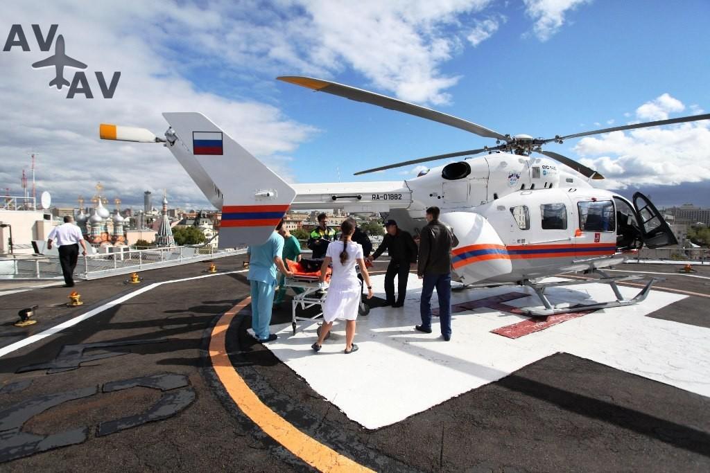 sanavia - Количество медицинских вертолетов в России увеличится