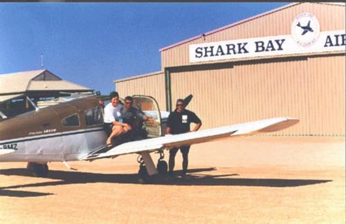 sharkbay - Аэропорт Шарк-Бэй Австралия коды IATA:MJK