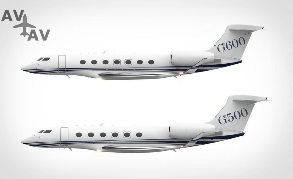 sides large - Gulfstream g500 vs g600  - муки выбора