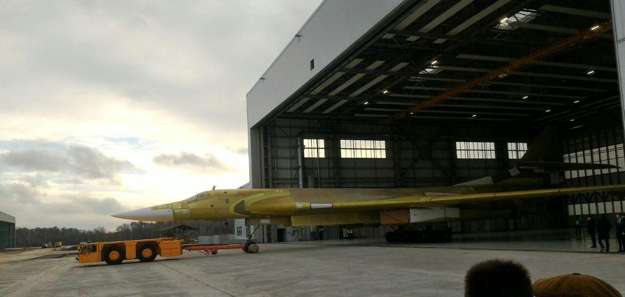 Новый бомбардировщик Ту-160М2 готовится к первому полету