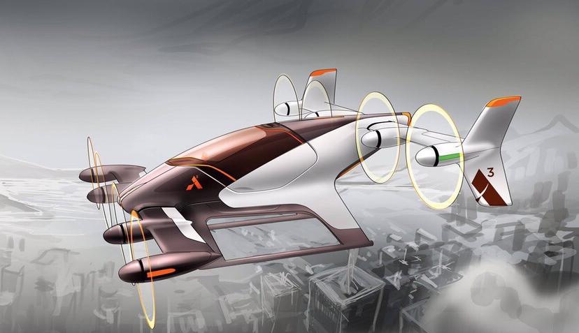 """vahana - Создатели """"летающих автомобилей"""" сообщили о своих успехах"""