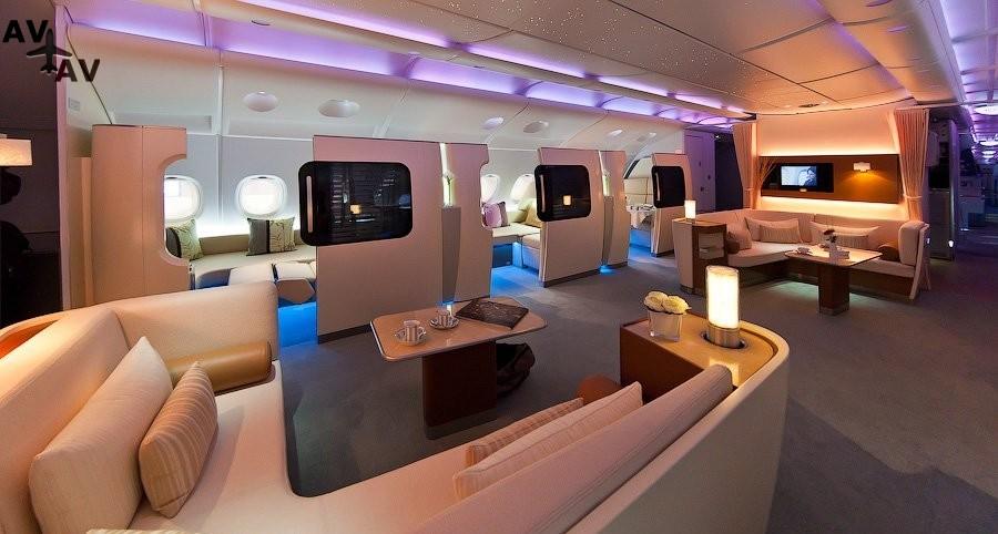 1010 - Воздушная драгоценность: эксклюзивная отделка самолетов