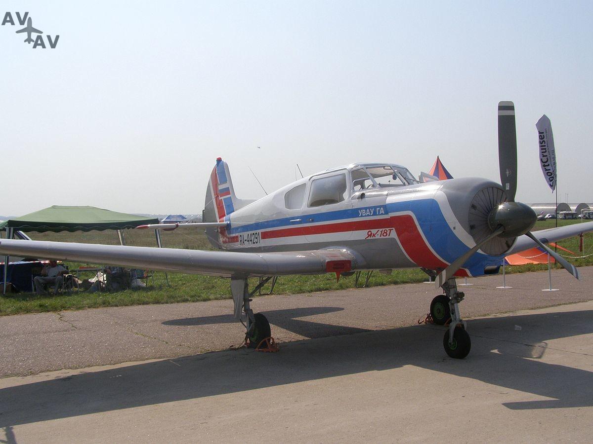 1200px Yak 18T - Когда актер – самолет: какие лайнеры можно увидеть в кино?