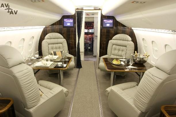 1323721780 roskoshnye samolety2 - Частный самолет без иллюминаторов может стать будущим мировой авиации