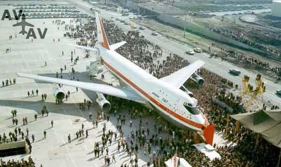 747 - Пятерка самых больших самолетов мира