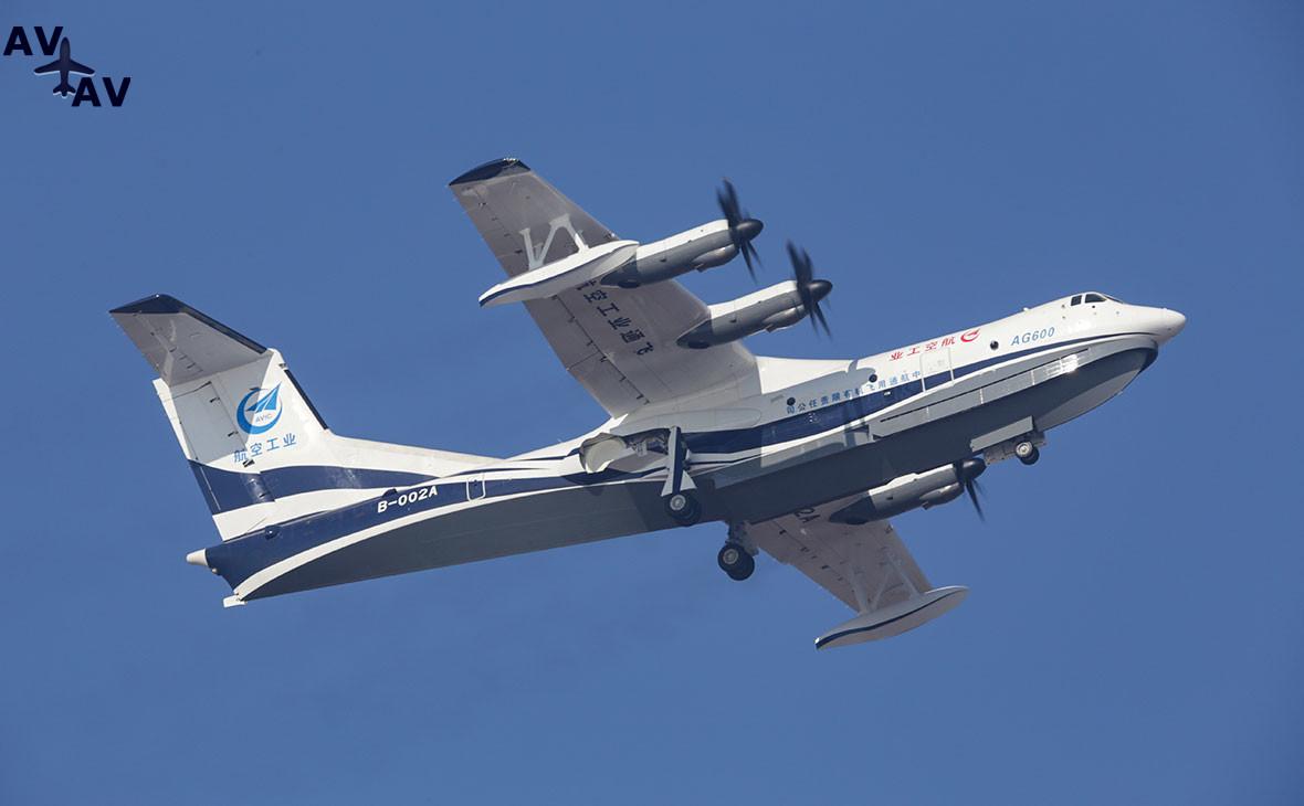 755140882379211 - Китай запустил крупнейший самолёт-амфибию
