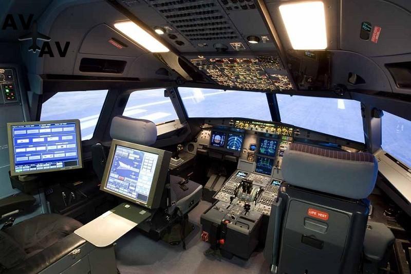 A320 Rear - Новый симулятор Airbus A320NEO в аэропорту Амстердама