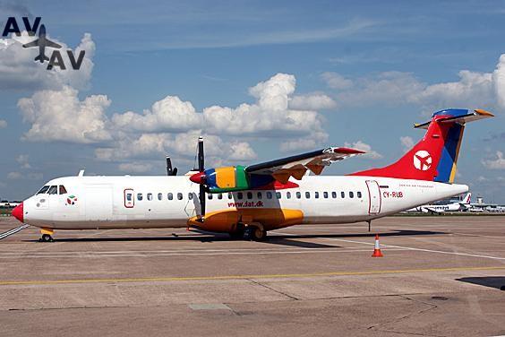 ATR72 PrivateFly AA1546 - Charter a ATR72 - Аренда