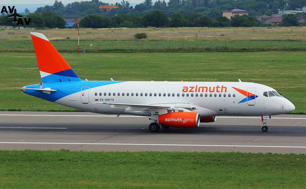 """Авиакомпания """"Азимут"""" начнёт полеты в страны ЕАЭС"""
