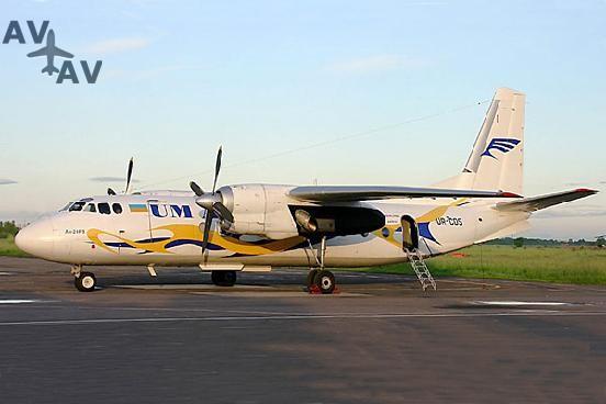 An 24 PrivateFly AA1559 - Charter a An 24 - Аренда