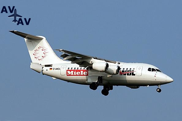 BA146 100 Avro RJ70 PrivateFly AA1533 - Charter a BA146-100/Avro RJ70 - Аренда