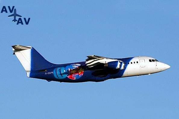 BA146 200 Avro RJ85 PrivateFly AA1521 - Charter a BA146-200 / Avro RJ85 - Аренда