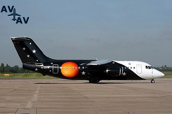 BA146 200 Avro RJ85 PrivateFly AA1571 - Charter a BA146-200 / Avro RJ85 - Аренда
