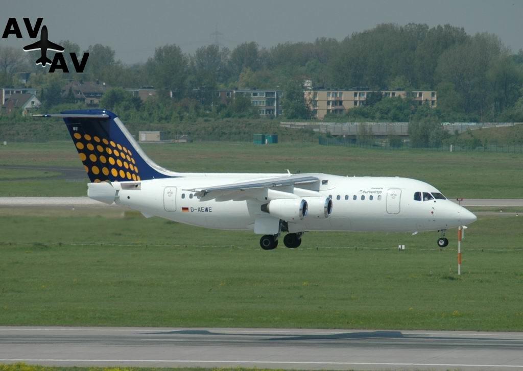 BA146 200 Avro RJ85 PrivateFly AA6039 1024x727 - Charter a BA146-200 / Avro RJ85 - Аренда