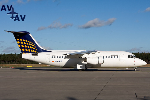 BA146 200 Avro RJ85 PrivateFly AA6040 - Charter a BA146-200 / Avro RJ85 - Аренда