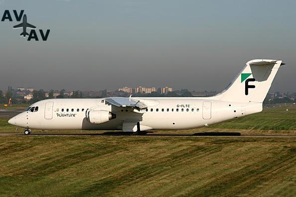BA146 300 Avro RJ100 PrivateFly AA1473 - Charter a BA146-300 / Avro RJ100 - Аренда