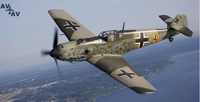 Bf109 7 - Когда актер – самолет: какие лайнеры можно увидеть в кино?
