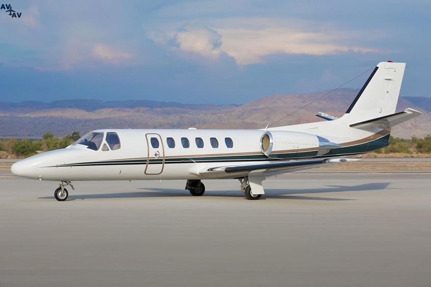 Cessna C550 Citation Bravo PrivateFly AA9989 - Аренда Cessna C550 Citation Bravo - Аренда