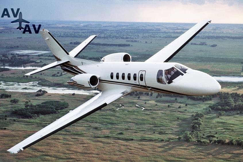 Cessna C550 Citation II IISP S PrivateFly AB1077 - ЗАФРАХТОВАТЬ CESSNA C550 CITATION II / IISP / S - Аренда
