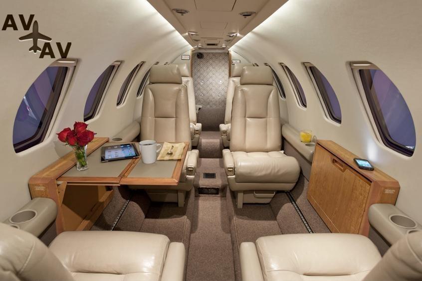 Cessna C550 Citation II IISP S PrivateFly AB1080 - ЗАФРАХТОВАТЬ CESSNA C550 CITATION II / IISP / S - Аренда