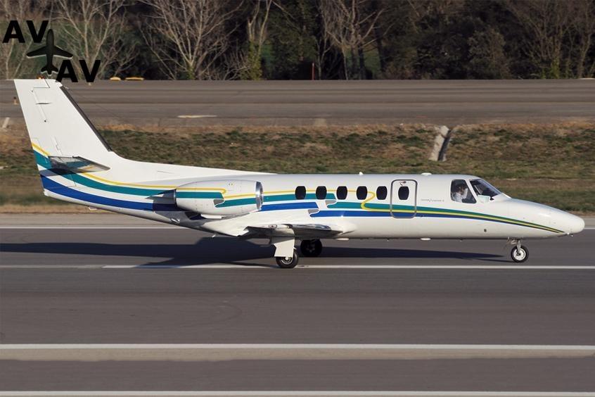 Cessna C550 Citation II IISP S PrivateFly AB1081 - ЗАФРАХТОВАТЬ CESSNA C550 CITATION II / IISP / S - Аренда