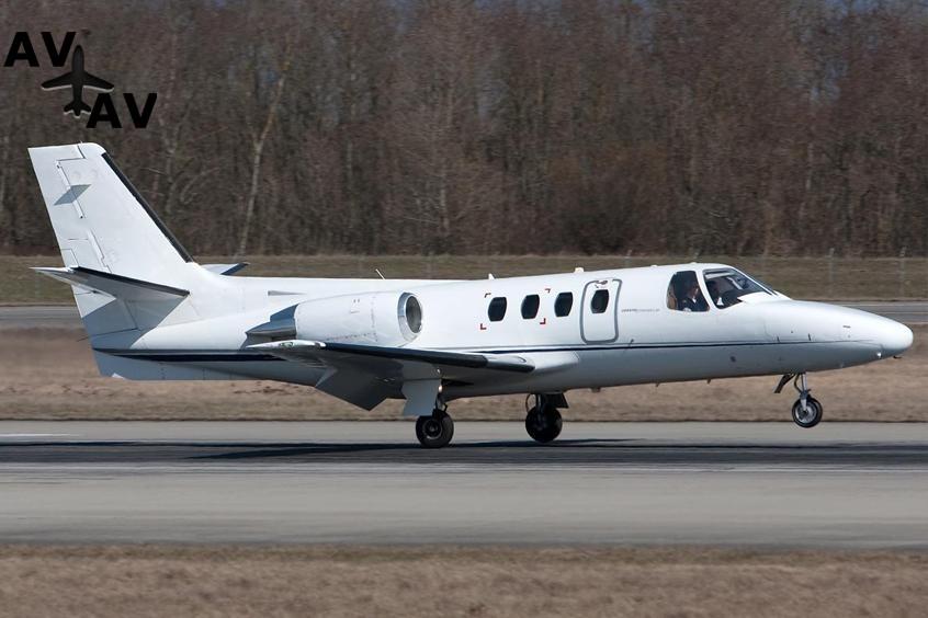 Cessna Citation I PrivateFly AB1032 - Аренда Cessna C500 Citation - Аренда
