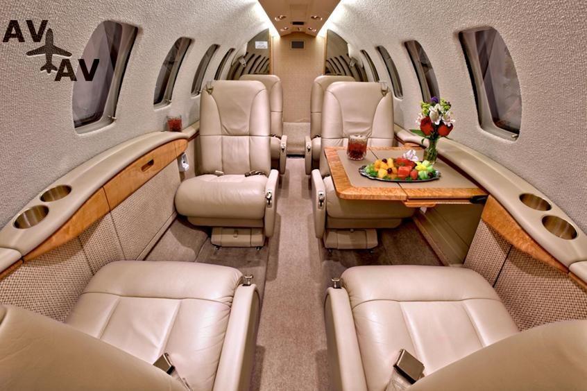 Cessna Citation I PrivateFly AB1033 - Аренда Cessna C500 Citation - Аренда
