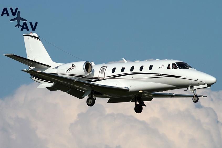 Citation XLS Plus PrivateFly AB8857 - Зафрахтовать Citation XLS+
