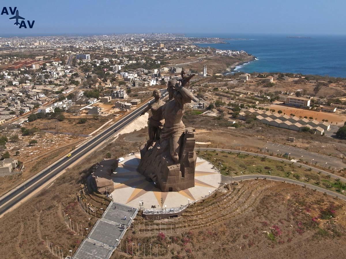 Dakar gorod dostoprimechatelnostey - Дакар - город достопримечательностей