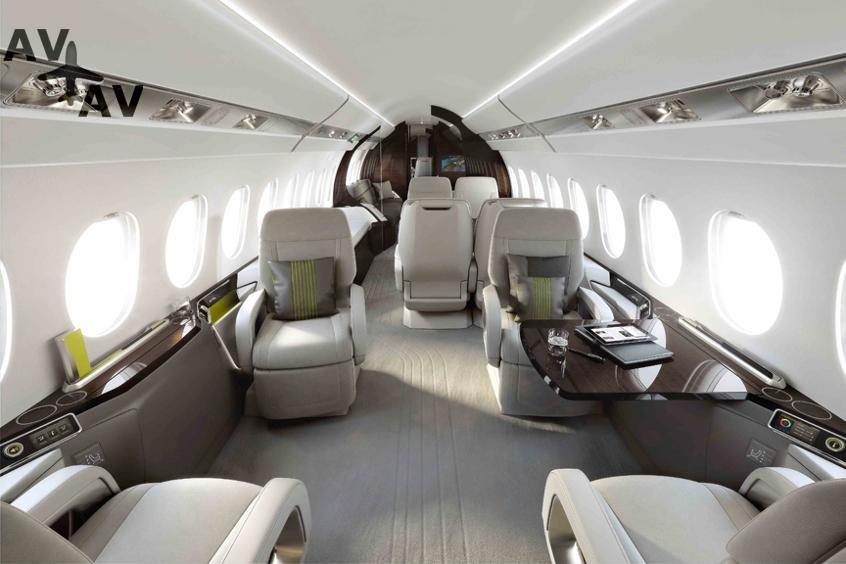 Falcon 5X PrivateFly AA9581 - Falcon 5X - Аренда