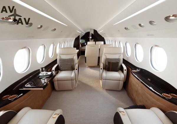 Falcon 8X PrivateFly AB8783 - Charter a Falcon 8X - Аренда