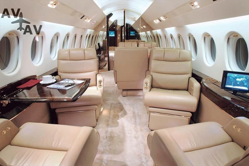 Falcon 900 900EX PrivateFly AA9729 - Charter a Falcon 900 / 900EX - Аренда