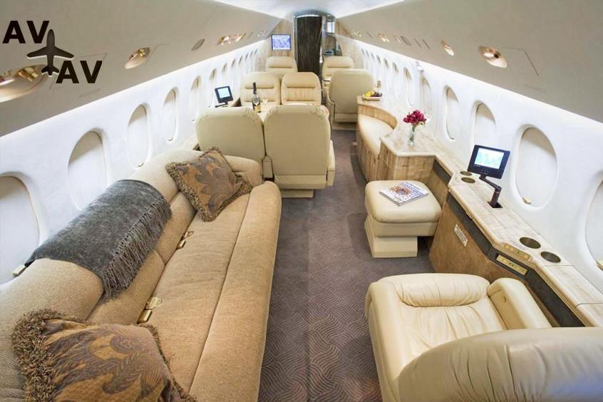 Falcon 900 900EX PrivateFly AA9731 - Charter a Falcon 900 / 900EX - Аренда