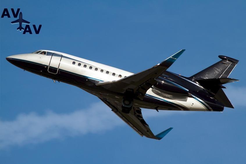 Falcon 900LX PrivateFly AA9733 - Falcon 900LX - Аренда