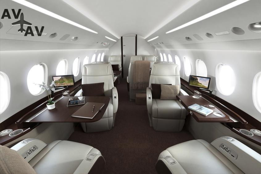 Falcon 900LX PrivateFly AA9734 - Falcon 900LX - Аренда