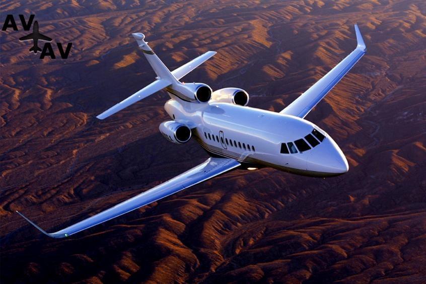 Falcon 900LX PrivateFly AA9735 - Falcon 900LX - Аренда