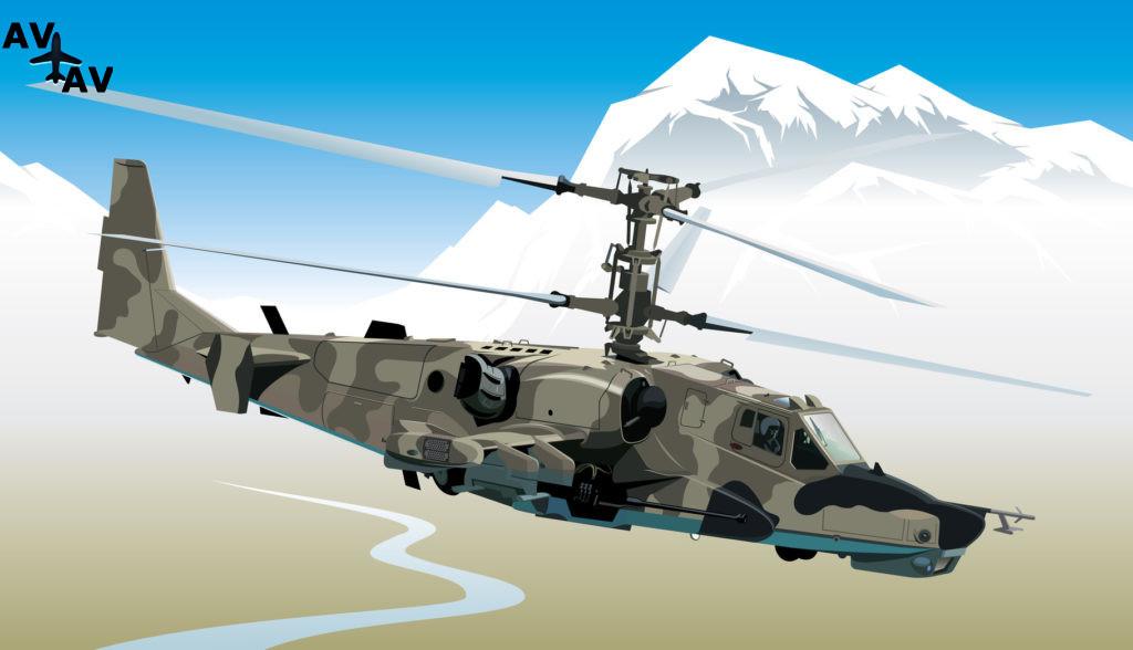 Fotolia 18422803 Subscription Monthly M 1024x588 - Вертолет ЧернаяАкула:ка-50 - Вертолет Ка-50 - Черная акула. Ka -50 - Black Shark Helicopter. Attack helicopter. Hokum (Black Shark) Russia.